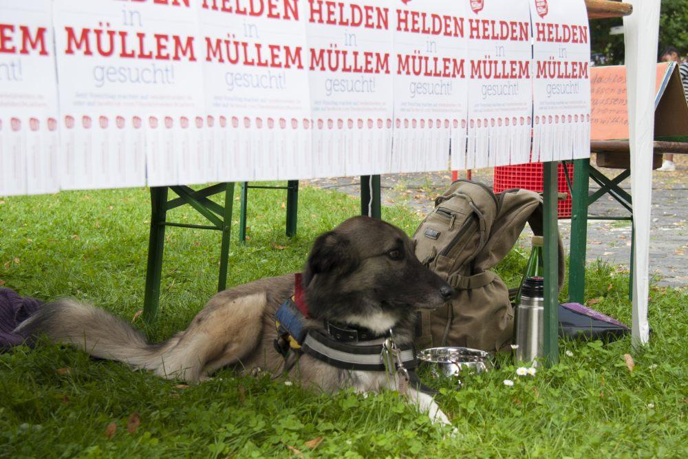 Veedelshelden Müllem! beim Bürgerfest am Mülheimer Tag 2014