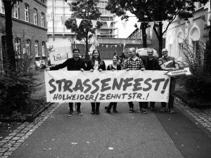 Das Straßenfest von Veedelshelden Müllem! beim Mülheimer Tag 2015